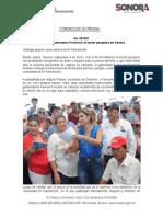 04-09-19 Impulsa Gobernadora Pavlovich al sector pesquero en Sonora