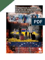Migración Venezolana en Cali-Univalle-2019