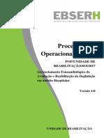 POP GERENCIAMENTO FONO DE AVALIAÇÃO E REABILITAÇÃO DA DEGLUTIÇÃO.pdf