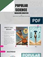 Popular Science Magazine Analysis