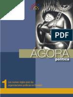 Ágora política 1 - Las nuevas reglas para las organizaciones políticas.pdf