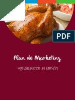 1.- Plan de Marketing