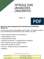 08 - Controle Das Radiações Ionizantes (Raios-X)