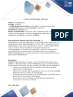 Fomato Preinformes e Informes de Laboratorio