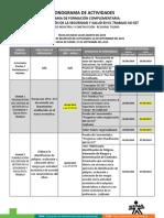 Cronograma de Actividades SG-SST