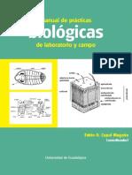 Manual de Prácticas Biológicas de Laboratorio y Campo - Cupul