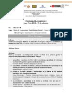 Programa Del CONLES 2019