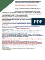 Paixão de Cristo Do Povoado Santo Antônio Da Cobra 2019-Convertido