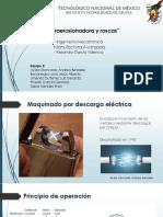 Electroerosionadora y Roscas