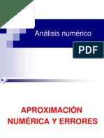 Aproximación numérica y errores