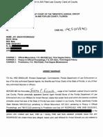 Rodriguez Warrant