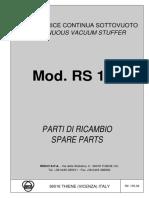 RISCO - Embutidor RS105 - Manual y Despiece