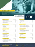 Plan de Estudios Psicologia Bogota