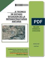 Informe Tecnico de Estado Situacional de La Infraestructura Sanitaria
