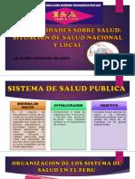 Situacion de Salud Del Peru