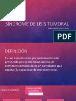 lisis tumoral