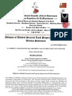 Affidavit of Allodial Land Repo_2 Century Homes_9-11-2019