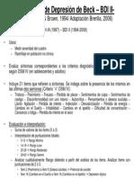 Transparencia- BDI II