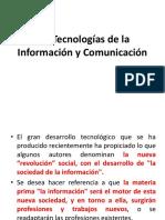 Las Tecnologías de La Información y La Comunicación en El Aprendizaje