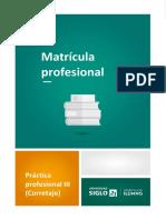 L2 Matricula Profesional