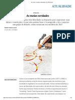 As Meias Verdades _ Atualidade _ EL PAÍS Brasil
