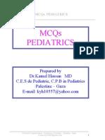 Cross Mcqs Pediatrics