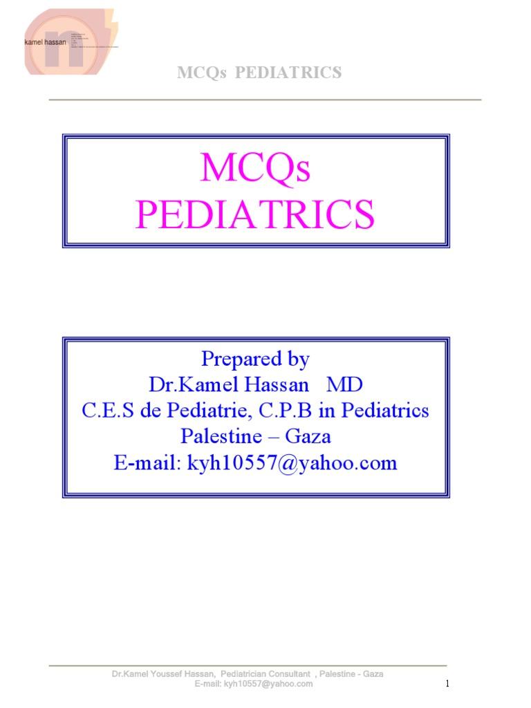 Cross Mcqs Pediatrics   Congenital Heart Defect   Heart