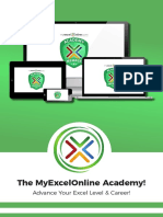 My Excel Online Academy Online Course