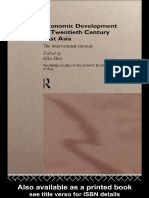 Aiko Ikeo - Economic Development in Twentieth Century East Asia_ The International Context (Routledge Studies in the Growth Economies of Asia) (1997).pdf
