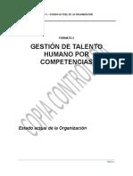 Formato Estado Actual de La Organizacion e Informe Anexo