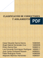 Clasificación de Conductores y Aislamientos