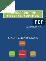 2º Sem Anatomia Dental Semana