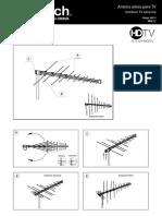 Conexión antena HDTV