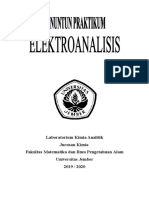Modul Praktikum Elektroanalisis