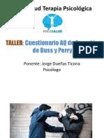 1. Ppt - Cuestionario de Agresión de Buss y Perry-Aq en Adolescentes