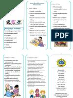 leaflet terapi bermain