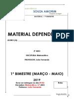 2º Ano Em Matemática João Fernando