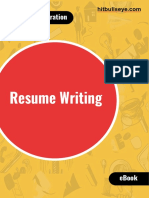 Resume writhing