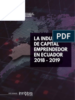 La Industria de Capital Emprendedor en Ecuador 2018-2019