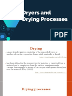 Dryers and Drying Processes v GM