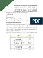 Nomenclatura de Los Compuestos de Química Orgánica