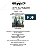 COPD Walk 2010 - Canberra