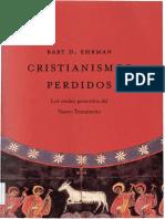 Bart d Ehrman Cristianismos Perdidos 01