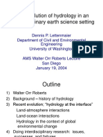 Lettenmaier Roberts Lecture