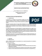 INFORME ESTUDIO ANTROPOMETRICO
