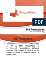 powerpoint lesson