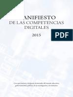Competencias Digitales ES Manifesto 2015