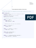 Listas Simples Java