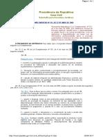 Lei Complementar 131 de 27 Maio 2009