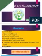 Biomedical waste management